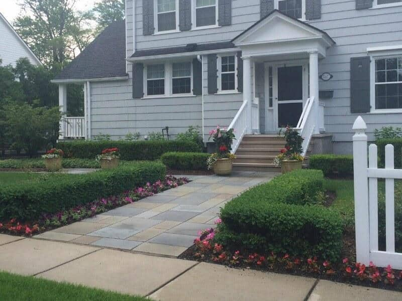 landscaping portfolio, before and after MI