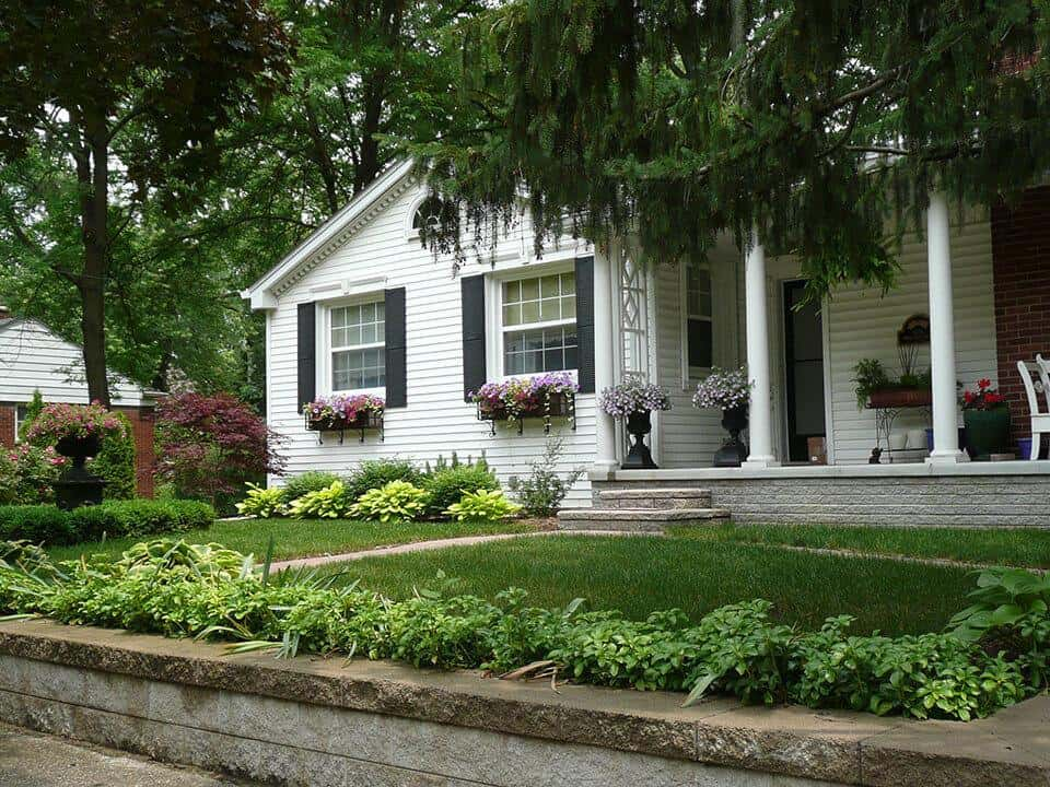 Front Yard Landscape Design Takes A Lead Role Landscaping Services Mi