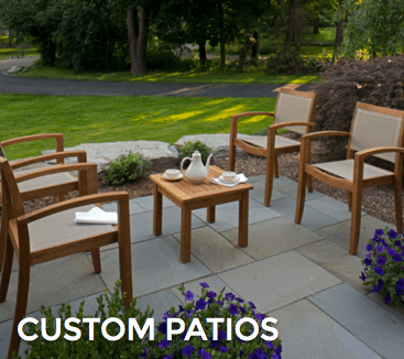 custom patio design mi
