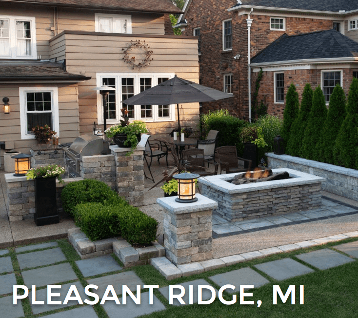 custom landscape design Pleasant Ridge, MI