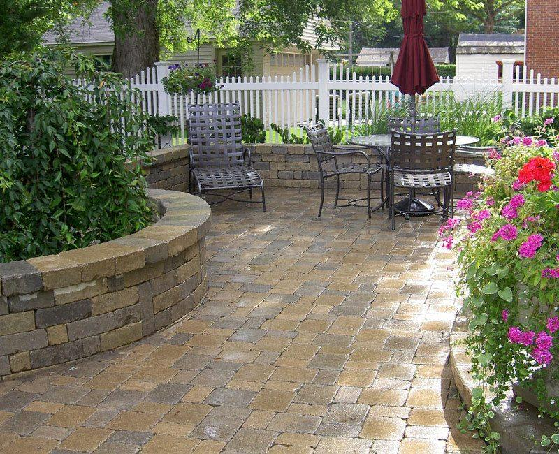 brick pavers patio mi