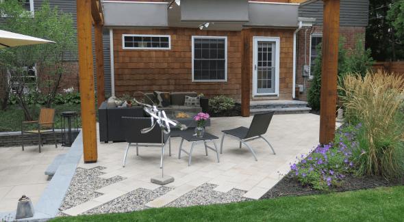 back yard landscape design birmingham mi