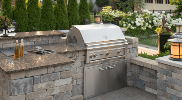 outdoor kitchen grill Pleasant Ridge Mi