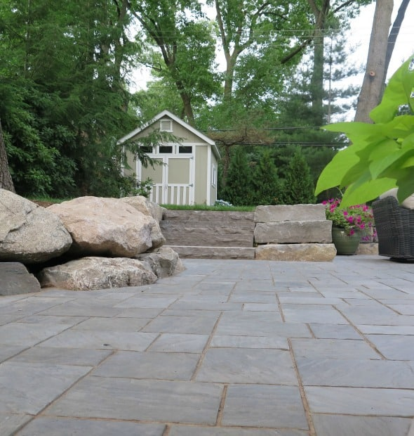 Huntington Woods custom patio