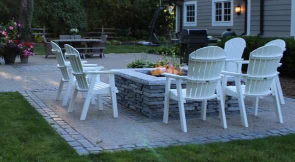 backyard Bloomfield Hills outdoor living