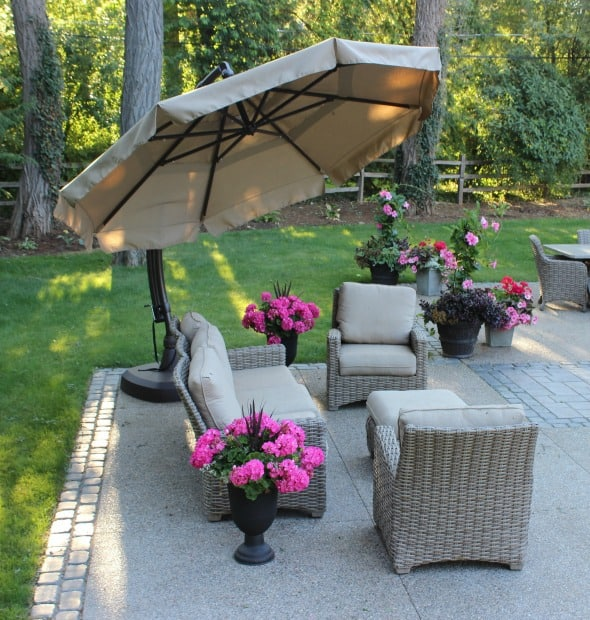 bloomfield hills backyard patio design