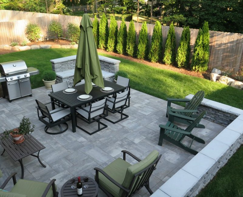 patio design Michigan