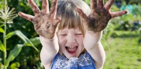 Gardening With Children:  We Love To Play In The Dirt
