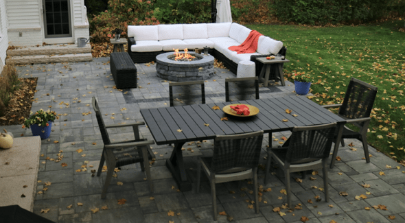 backyard patio Beverly Hill Michigan
